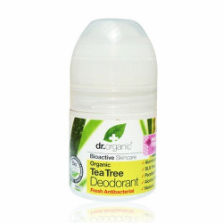Dr. Organic Tea Tree Deodorant  Roll-on (50 ml)