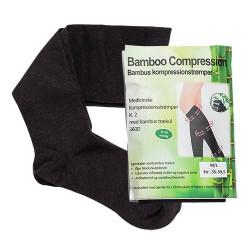 Bamboo Pro - Bambus kompressionsstrømper Str. M/L (2 stk)