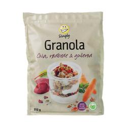 EASIS Granola Chia, Rødbede og Gulerod
