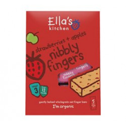 Ellas Kitchen Figenbar Jordbær/Æble 12 Mdr Ø