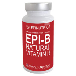Epinutrics EPI-B Natural Vitamin B (60 kaps)