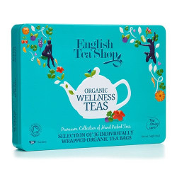 English Tea Shop Gaveæske Te Wellness Ø Organic 36 breve a 6 varianter