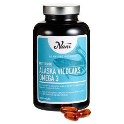 Nani Food State Omega 3 Alaska Vildlaks (180 kapsler)