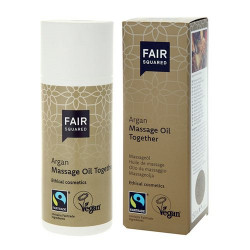 FAIR SQUARED - Massageolie m. Argan (150 ml)