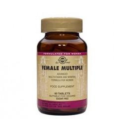 Solgar Female Multiple Multivitamin Kvinder (60 tab)