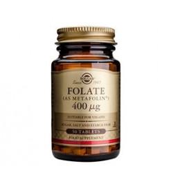 Solgar Folat (Metafolin) 400ug (50 tabs)