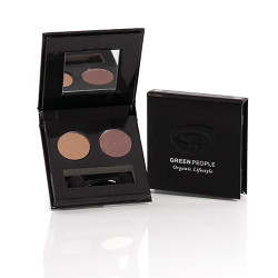 GreenPeople Night Forest Eco Eye Duo (Tawny Owl/Mink Brown)