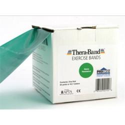 Thera-Band elastik bånd 45m (Grøn - Middel)