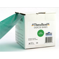 Thera-Band elastik bånd 45m (Sort - Hård)