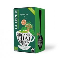 Clipper Grøn Te Chai Ø (40 g)