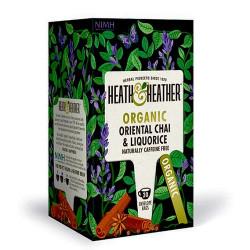Heath & Heather Oriental Chai & Liquorice Ø (20 breve)