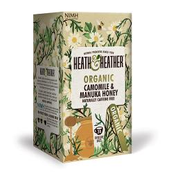 Heath & Heather Organic Green Tea & Manuka honey (20 br)
