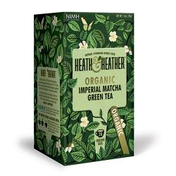 Heath & Heather Organic Imperial Matcha Green Tea (20 breve)