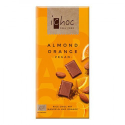 Ichok Almond/Orange Choco Ø (80 gram)
