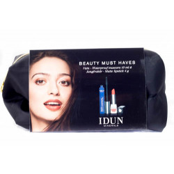 IDUN Minerals Makeup Kit/Gaveæske (10 ml x 4g)