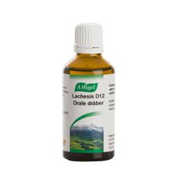 Lachesis D12, 50 ml.