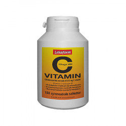 Lekaform C-vitamin 610 mg (150 tabletter)