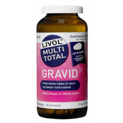 Livol Multi Total Gravid (200 tabletter)