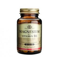 Solgar Magnesium Vitamin B6 (100 tabs)