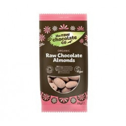 The Raw Chocolate Co. Mandler m. rå chokolade Ø (28 g.)