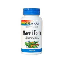 Solaray Mave i Form (100 kapsler)