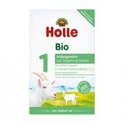 Holle Modermælkserstatning Gedemælk Basis 1 Ø