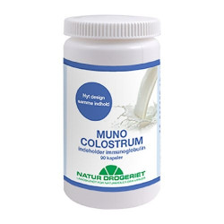 Muno colostrum 90 kapsler 500 mg.