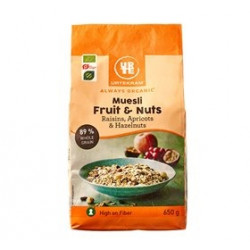 Urtekram - Muesli Fruit & Nuts (650g)