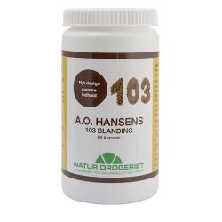 Natur Drogeriet A.O. Hansen 103 Kosttilskud (90 kapsler)
