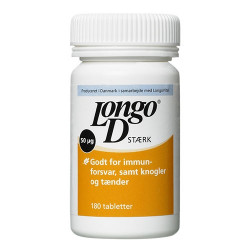 Longo D3 Stærk (180 tabletter)