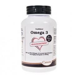 Omega 3 Højkoncentreret (1000 mg) Fiskeolie (120 kap)