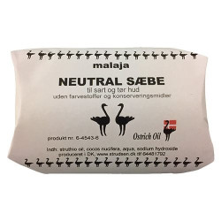 Ostrich Oil Badesæbe Neutral (80 gr)