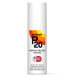 P20 Solbeskyttelse Spf 50+ Spray (100 ml)
