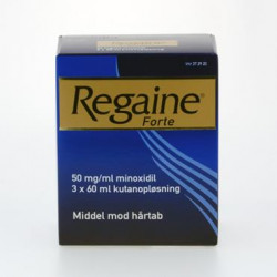 Regaine Forte Kutanopløsning 50 mg (3x60 ml)