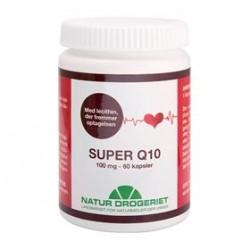 Natur Drogeriet Q10 Super M.Lechitin 100 Mg. (60 kap)