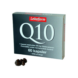 Lekaform Q10 30 mg (60 kapsler)