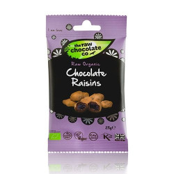 Rosiner m. rå chokolade Ø Snack Pack