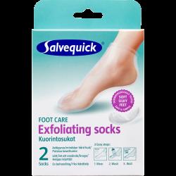Salvequick Exfoliant Socks (2 stk)