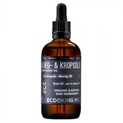 Ecooking Men Skæg- & Kropsolie (100 ml)