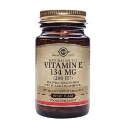 Solgar E-vitamin 134 mg (50 kapsler)