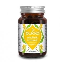 Pukka Turmeric Gurkemeje Ø (30 kapsler)