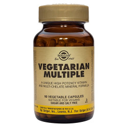 Solgar Vegetabilsk Multivitamin (90 vegicaps)