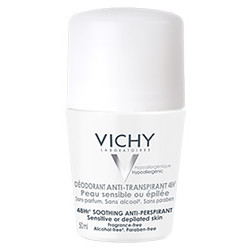 Vichy Deo 48h til sensitiv hud (50ml)