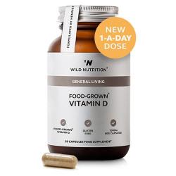 Wild Nutrition Food-Grown Vitamin D (30 kaps)