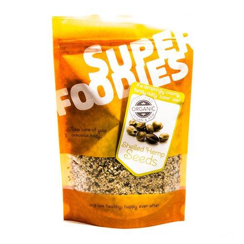 Image of Super Foodies Hampefrø afskallede Ø (250 g)