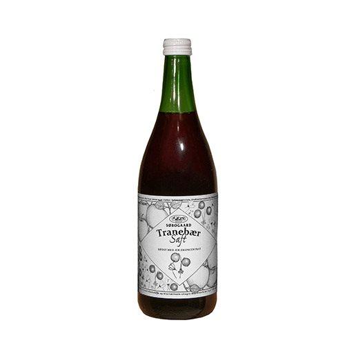 Image of Søbogaard Tranebærsaft m. æble sød Ø (730 ml)