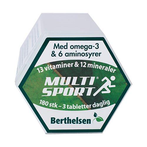 Image of Berthelsen MultiSport (180 tab)