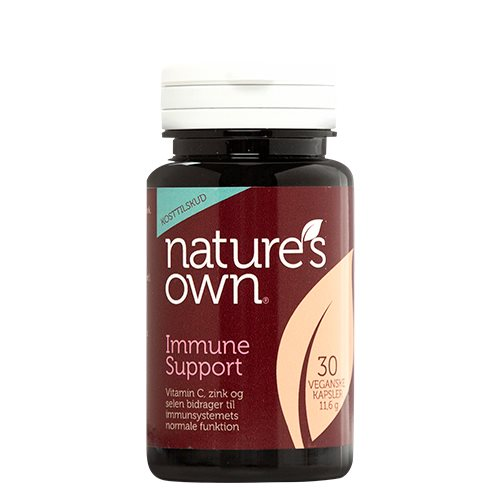 Natures Own - Immune Support med beta-glucan (30 kaps.)