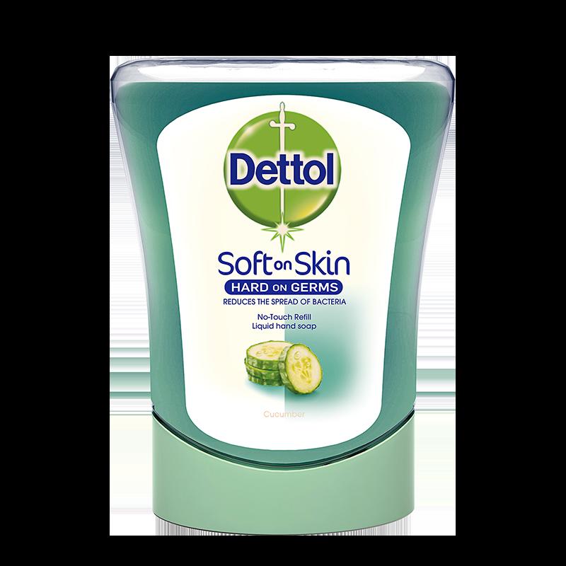 Dettol No Touch Sæbe Refill Cucumber (250 ml)