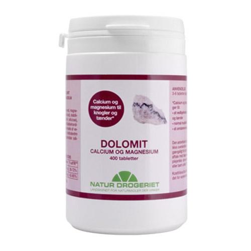 Image of Natur Drogeriet Dolomit Magnesium/Calcium (400 tabletter)
